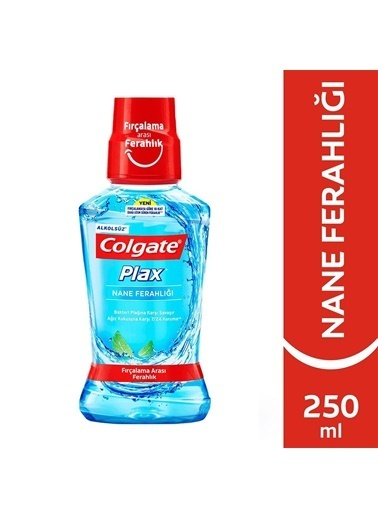 Colgate  Colgate Plax Nane Ferahlığı  Ağız Bakım Suyu 250 Ml Renksiz